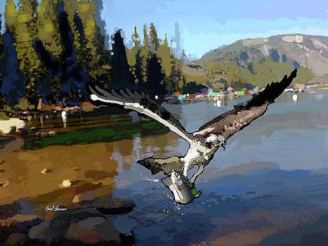 Pinecrest with Osprey and Trout by Brad Burns