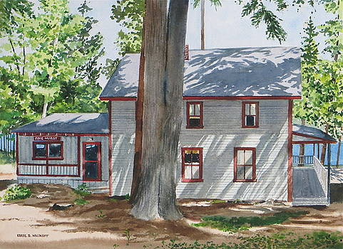 Pinehurst Cottage by Karol Wyckoff