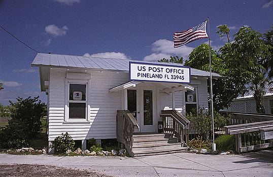 Pineland Post Office by Richard Nickson