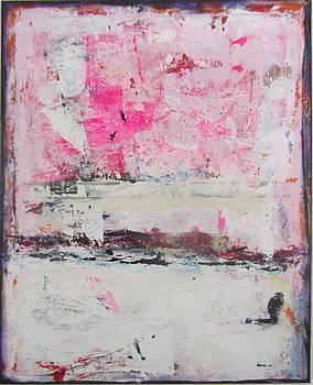 Pink About It 5 by Francine Ethier