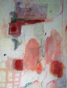 Pink Abstract by Brooke Wandall