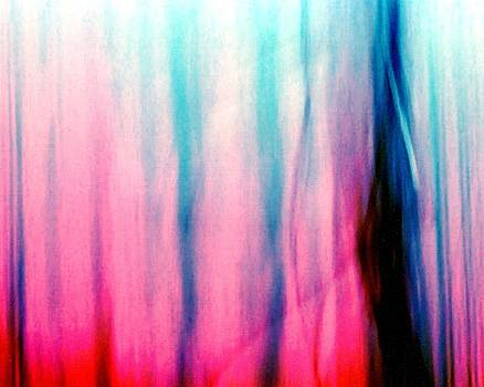 Karin Kohlmeier - Pink and Blue Abstract