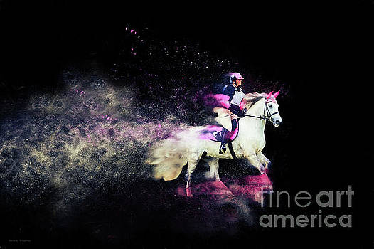 Michelle Wrighton - Pink and Grey Eventer - Colour Explosion