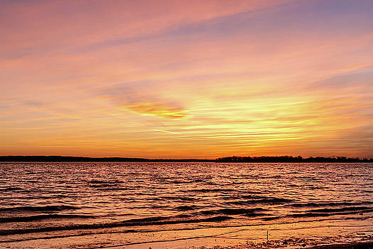 Pink and Yellow Sunset by Doug Long
