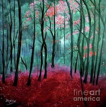 Derek Rutt - Pink Autumn