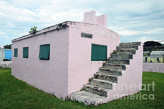 Pink Bahamas Jail by Catherine Sherman