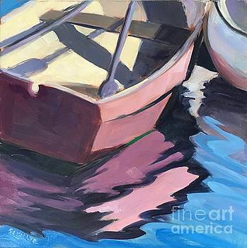 Pink Boat by Lynne Schulte