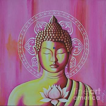 Pink Buddha by Joseph Sonday