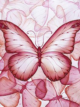 Pink Butterflies by Christina Meeusen