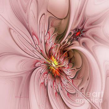 Pink Butterfly by Deborah Benoit