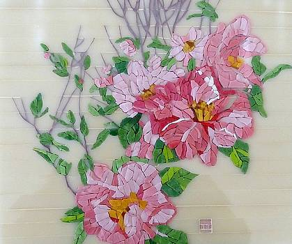 Pink Camellia by Teresa Tromp