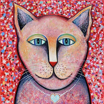 Pink Cat by Andrew Osta