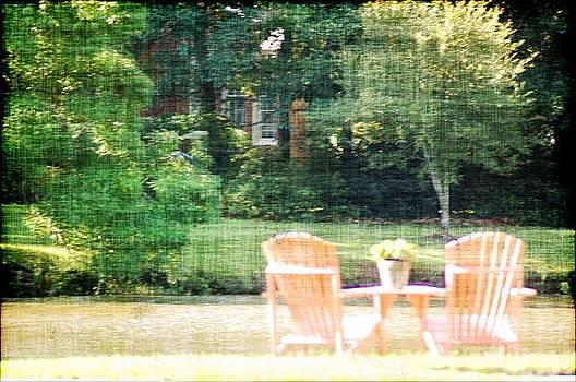 DONNA BENTLEY - Pink Chairs
