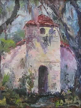 Pink Chapel of St. Simons  by Albert Fendig