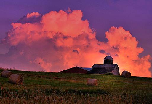 Emily Stauring - Pink Cloud Barn