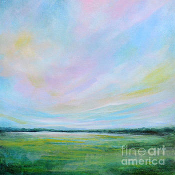 Pink Clouds by Tracy-Ann Marrison