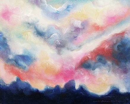 Suzanne  Marie Leclair - Pink Clouds Two