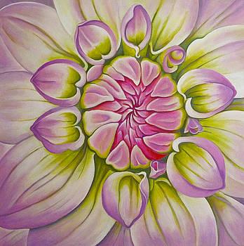 Pink Dahlia by Barbara Rockhold