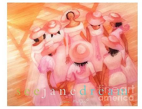 Pink Diva Prayer Circle by Janie McGee