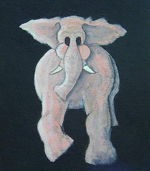 Pink Elephant 1 by James Violett II
