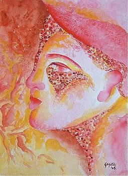 Pink Face by Gayatri Manchanda