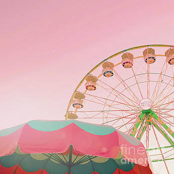 Pink Ferris Wheel by Cindy Garber Iverson