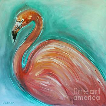 Pink Flamingo by Alan Metzger