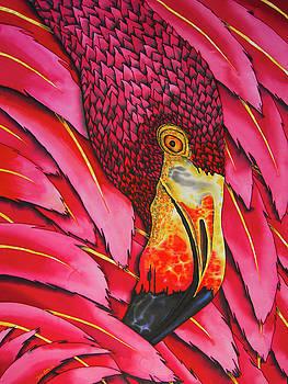 Pink Flamingo by Daniel Jean-Baptiste