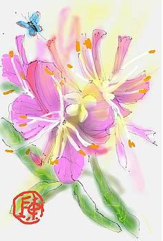 Pink Flower by Debbi Saccomanno Chan