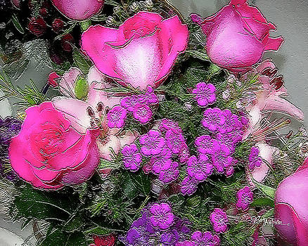 Pink Flowers #065 by Barbara Tristan