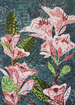 Pink Flowers by Janyce Boynton
