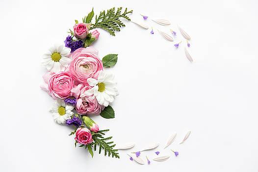 Valdecy RL - Pink Flowers