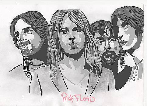 Pink Floyd by Colin Hockless