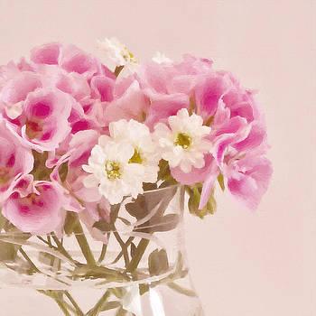 Sandra Foster - Pink Geraniums