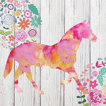 Pink horse by Marilu Windvand