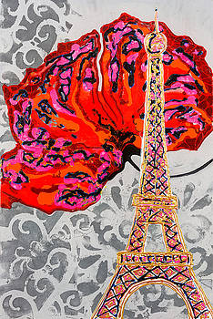 Pink In Paris by Sheila McPhee