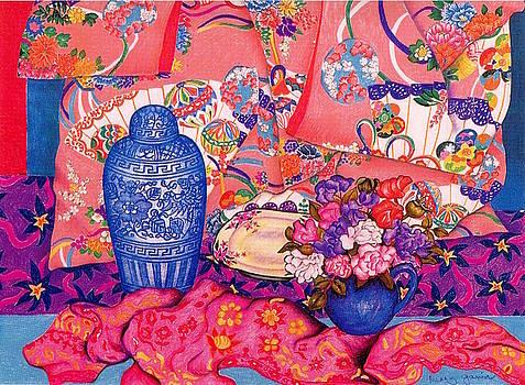 Richard Lee - Pink Kimono