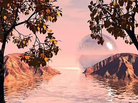 Pink Lake by Darren Cannell