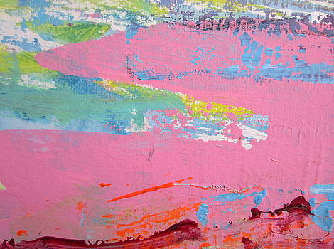 Pink Lake by Francine Ethier