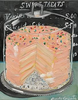Pink Layer Cake by Mindy Carpenter