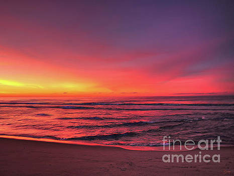 Pink LBI Sunrise by Jeff Breiman