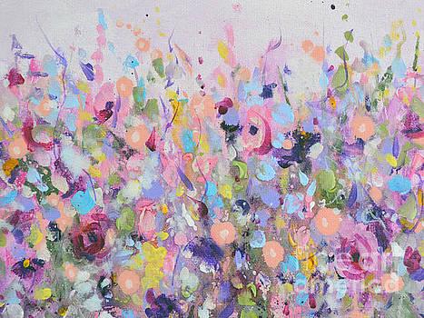 Pink Meadow by Tracy-Ann Marrison