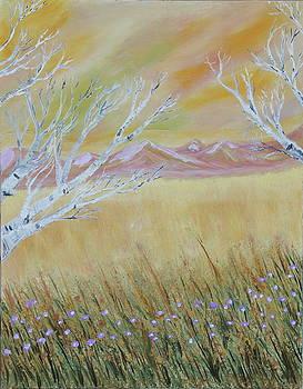 Pink Mountains by David King Johnson