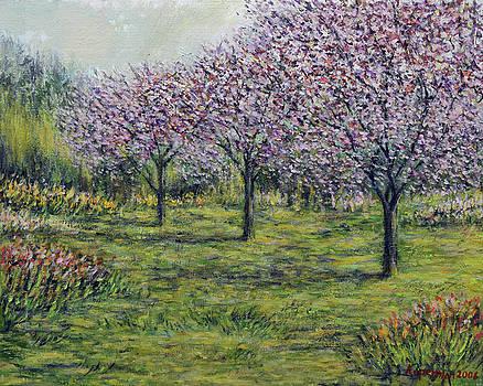 Pink Orchards Garden by Eugene Kuperman