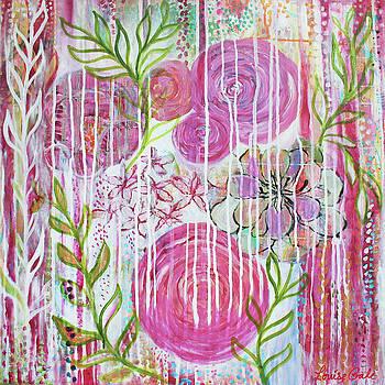 Pink Peonies by Louise Gale