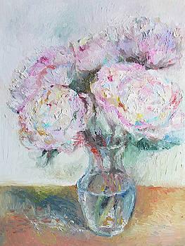 Pink Peonies by Yimeng Bian