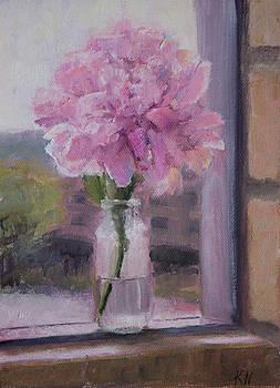 Pink Peony  by Katherine Seger