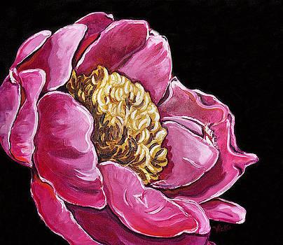 Pink Peony by Vickie Warner