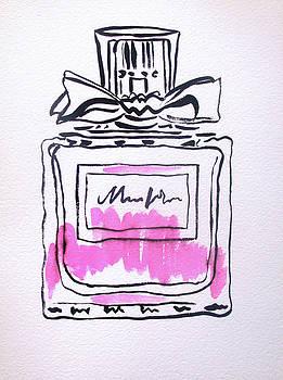 Pink Perfume Bottle by Sacha Grossel