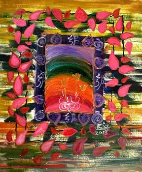 Rizwana Mundewadi - Pink Petals Shower of Love